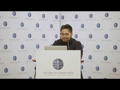 Badiucao at VOC's Hong Kong Human Rights Forum