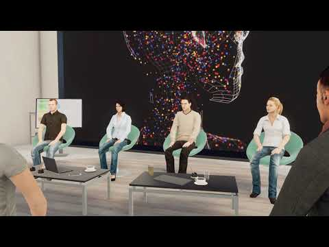 TriCAT Trailer | Virtual 3D Learning and Work Environments