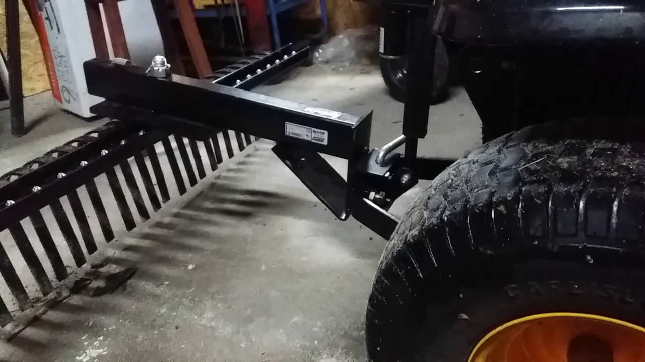 Electric Lift For Sleeve Hitch On Lawn Tractor