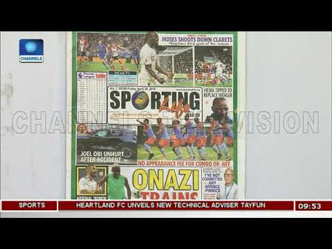 Eagles, DR Congo Friendly Threatened | Sports This Morning |