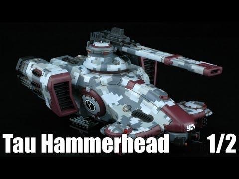How to paint Tau Hammerhead Digital Camo?   1/2