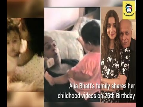 Alia Bhatt's UNSEEN childhood videos shared by Mahesh Bhatt and sister Shaheen on her 26th Mp3
