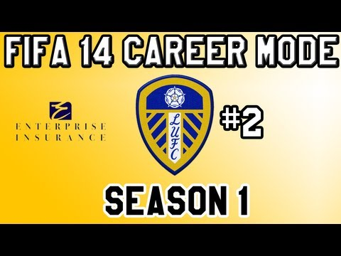 Fifa 14 Career Mode Leeds United S1 E2 - First Compitive Game and Signing!