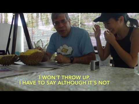 Jerry Coyne vs. The Durian (in Singapore)