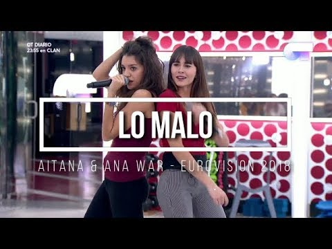 LO MALO - Aitana & Ana War ENGLISH SUBS Eurovision 2018