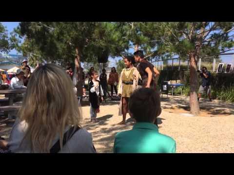 LADC performs in Tongva Park - Troilus and Cressida