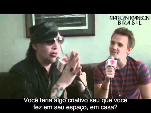 Marilyn Manson entrevistado pela Nova.FM (2012)