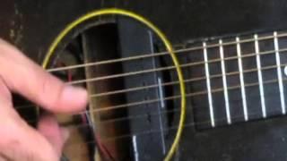 beginner easy acoustic finger picking