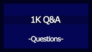 1K Q&A - QUESTIONS, Channel Growth, BestNHLClips Thumbnail