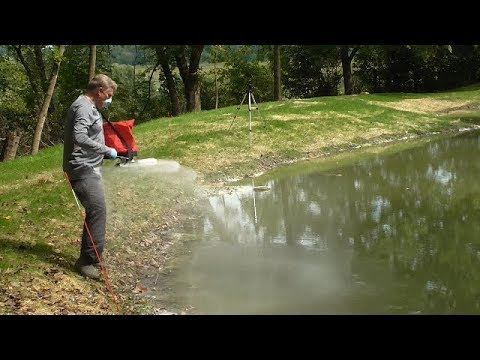 Ep  11 Sealing a pond leak with Soilfloc