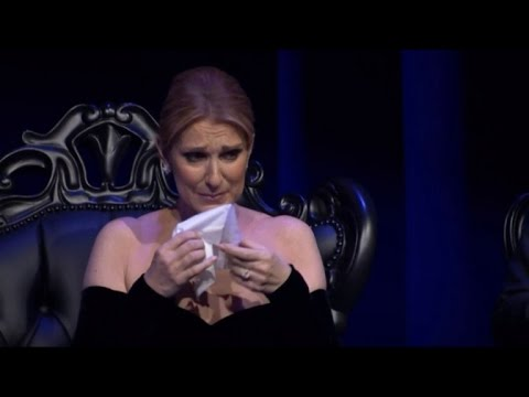 Celine Dion Fights Back Tears Speaking About  Late Husband For First Time