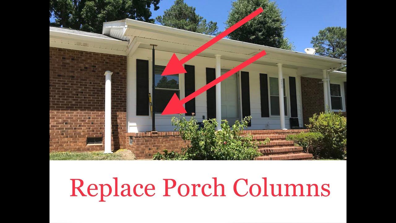Replace Porch Columns Posts