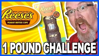 1lbs REESE'S CHOCOLATE PEANUT BUTTER BUNNY CHALLENGE