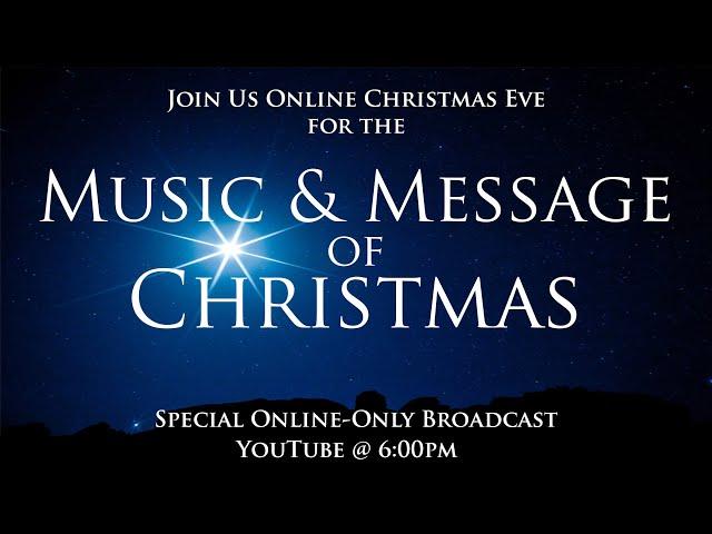 Highland Park Church 12-24-20 - Christmas Eve Broadcast