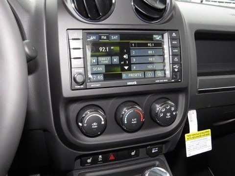 20112017 Jeep Compass Patriot Factory GPS Navigation Radio – Jeep Compass Radio Wiring Harness