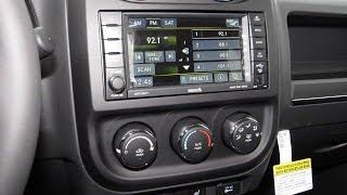 2011-2017 Jeep Compass & Patriot Factory GPS Navigation Radio Upgrade - Easy Plug & Play Ins