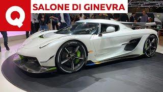 Koenigsegg Jesko, tutti i segreti della nuova hypercar svedese - Salone di Ginevra 2019