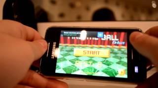 1 Часть обзора игр на Samsung galaxy ace