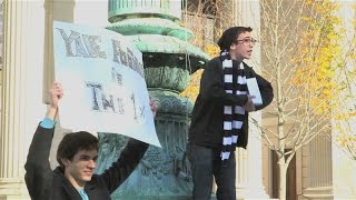 Harvard Protests Yale: The Game 2014