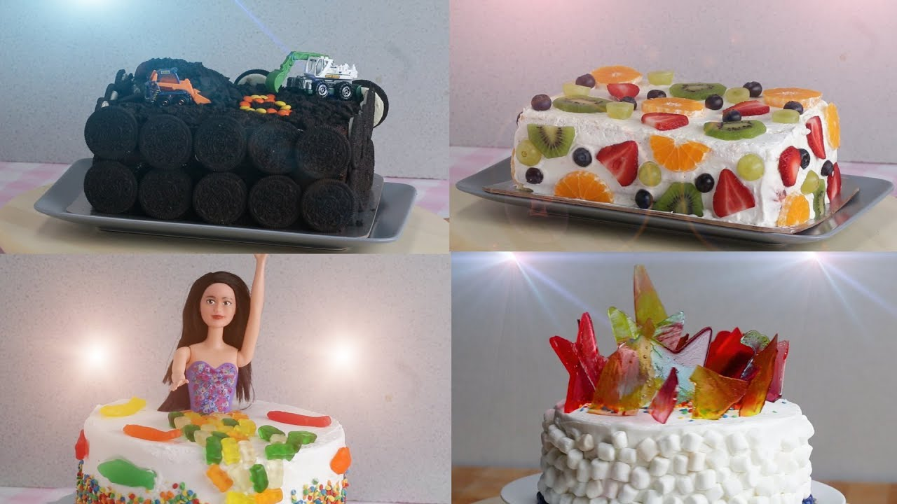 Turn Store Bought Cakes Into Themed Cakes For Birthdays Youtube