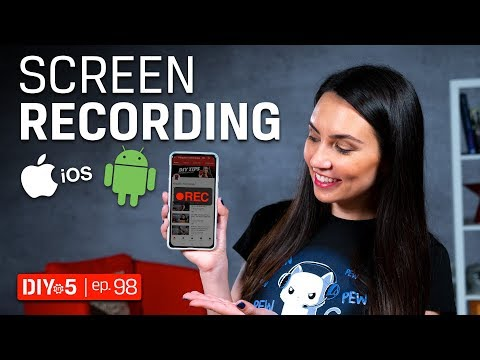 Smartphone Tips - Android And IPhone Screen Recording, Video Capture - DIY In 5 Ep 98
