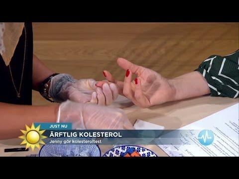 Här Tar Jenny Blodprov - Testar Farligt Kolesterol - Nyhetsmorgon (TV4)