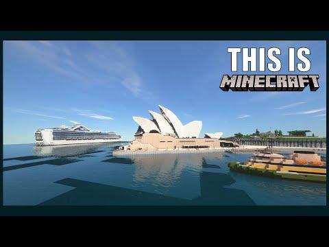 We Built Australia 1:1 Scale in Minecraft