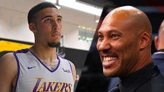 Liangelo Ball FORCED To Play Basketball Instead of Football By Lavar!