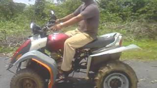 atv,4 wheel bike make in india, karnataka, shimoga.3gp