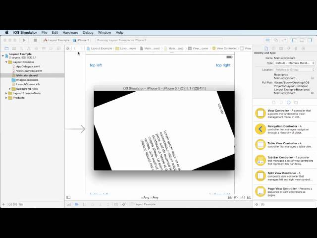 iOS Development with Swift Tutorial - 10 - Layout Constraints
