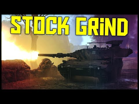 How to Play a STOCK Leopard 2k || War thunder Tanks Gameplay