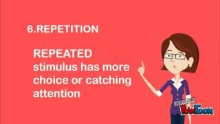 FACTORS IN INFLUENCING PERCEPTION