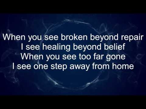 Mended - Matthew West (Lyrics)