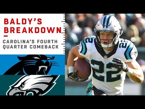 How the Panthers Executed Their 4th Quarter Comeback Win vs. the Eagles | NFL Film Review