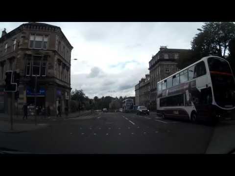 30 Minute Drive Around The City Of Edinburgh Scotland