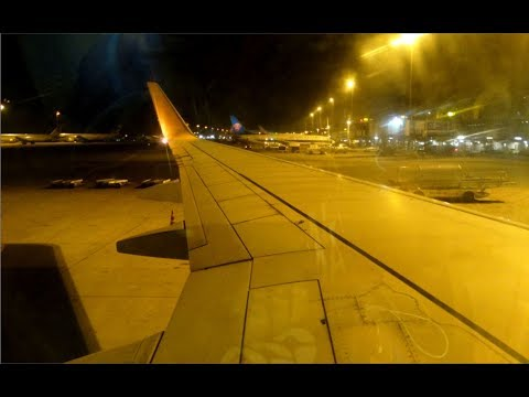 Night Flight: Jet Airways Boeing 737-900ER Bangkok to Mumbai