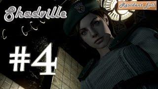Resident Evil HD Remaster (60 fps) Прохождение за Джилл #4: Встреча с красным зомби