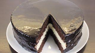 ESKİMO TORT RESEPTİ . PAMBIQ KİMİ YUMŞAQ BİSKVİT TORTU