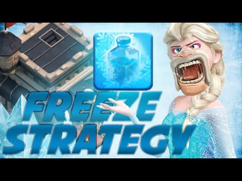 Clash Of Clans | TH9 FREEZE SPELL USAGE GUIDE / STRATEGY