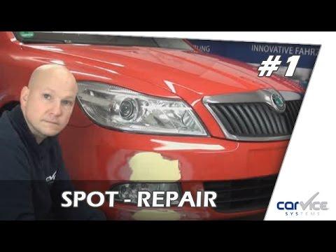 Spot Repair so geht`s !  Teil #1        Lackreparatur