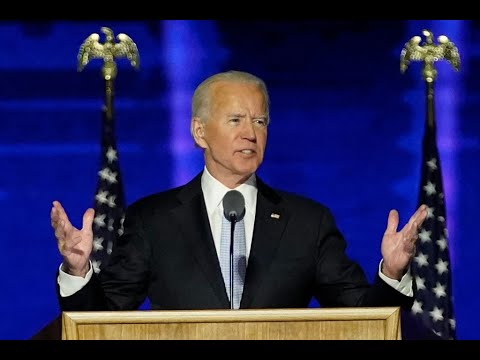 full-speech:-joe-biden-addresses-the-nation-for-the-first-time-as-president-elect