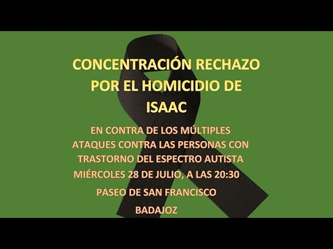 Concentración en Badajoz convocada por Aspergex por los últimos ataques a personas con TEA