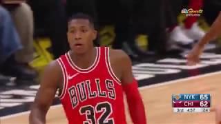 Kris Dunn Highlights vs. Knicks 12.26.17. 17 Pts, 5 Ast, 2 Stl!