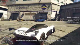 LIVESTREAM - GTA V Online mua siêu xe mới nào ^^ | ND Gaming