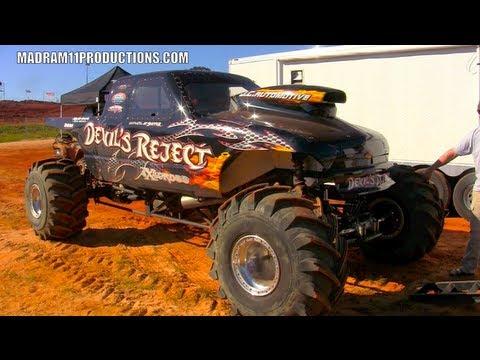 Devils Reject Fastest Mega Mud Truck At Bamajam Youtube