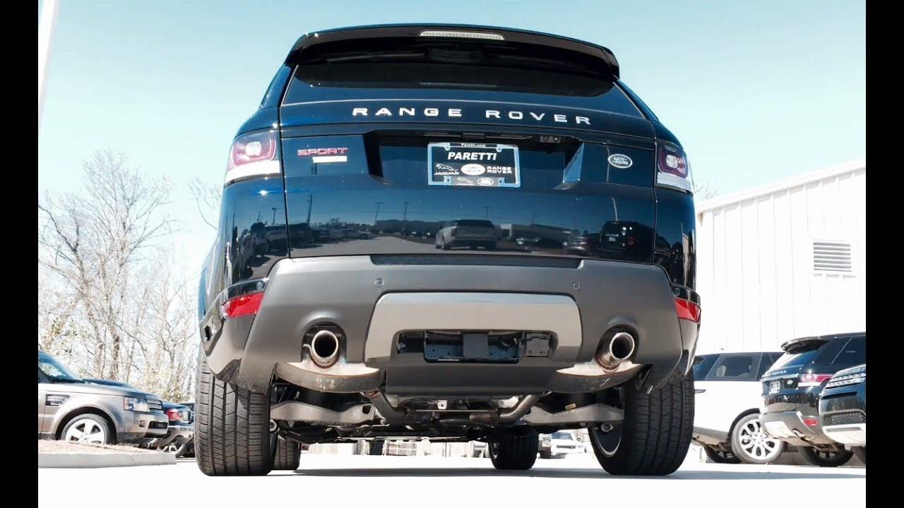 sound 2016 range rover sport autobiography exhaust start up short drive