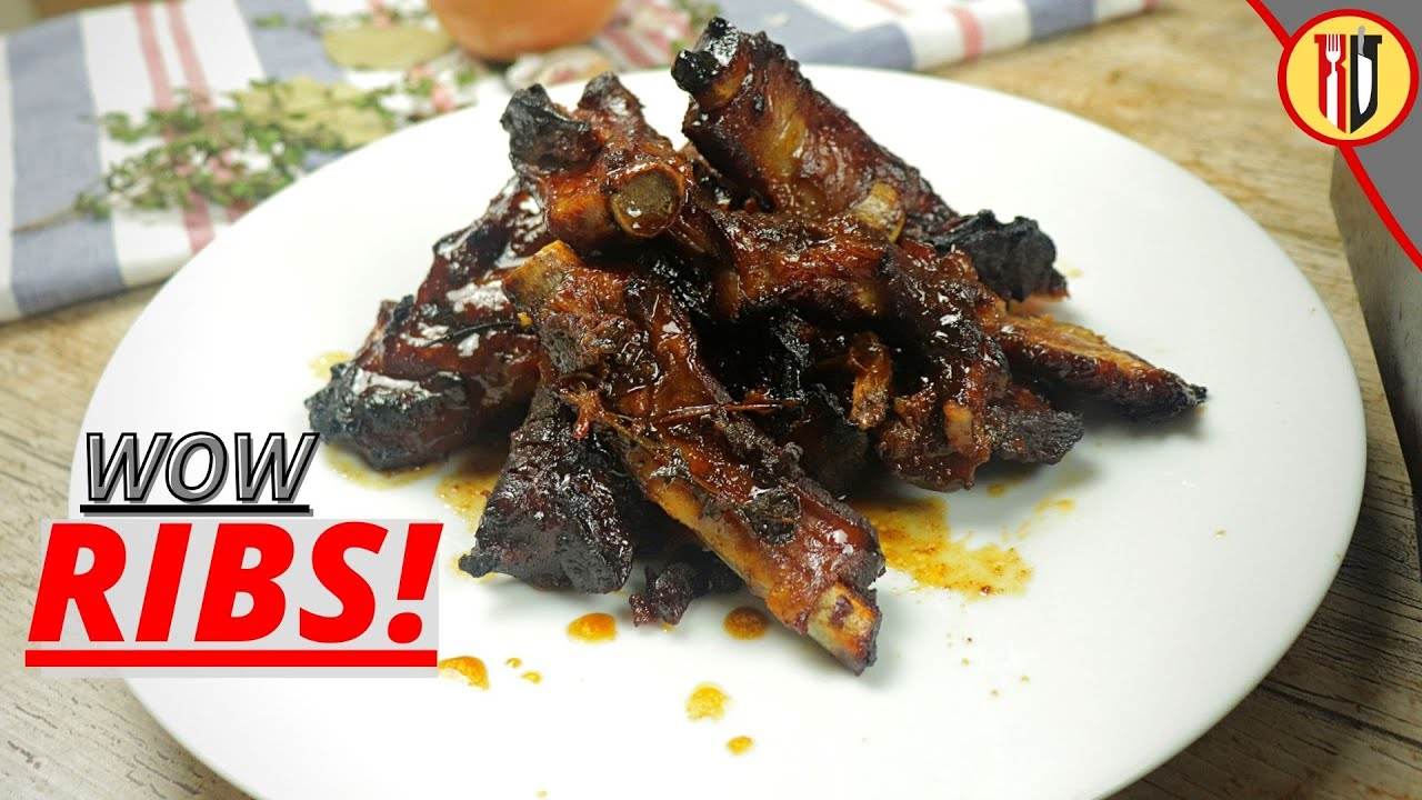 Pork RIBS double cooked...DOUBLE FLAVOUR!