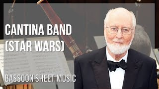 EASY Bassoon Sheet Music: How to play Cantina Band (Star Wars) by John Williams