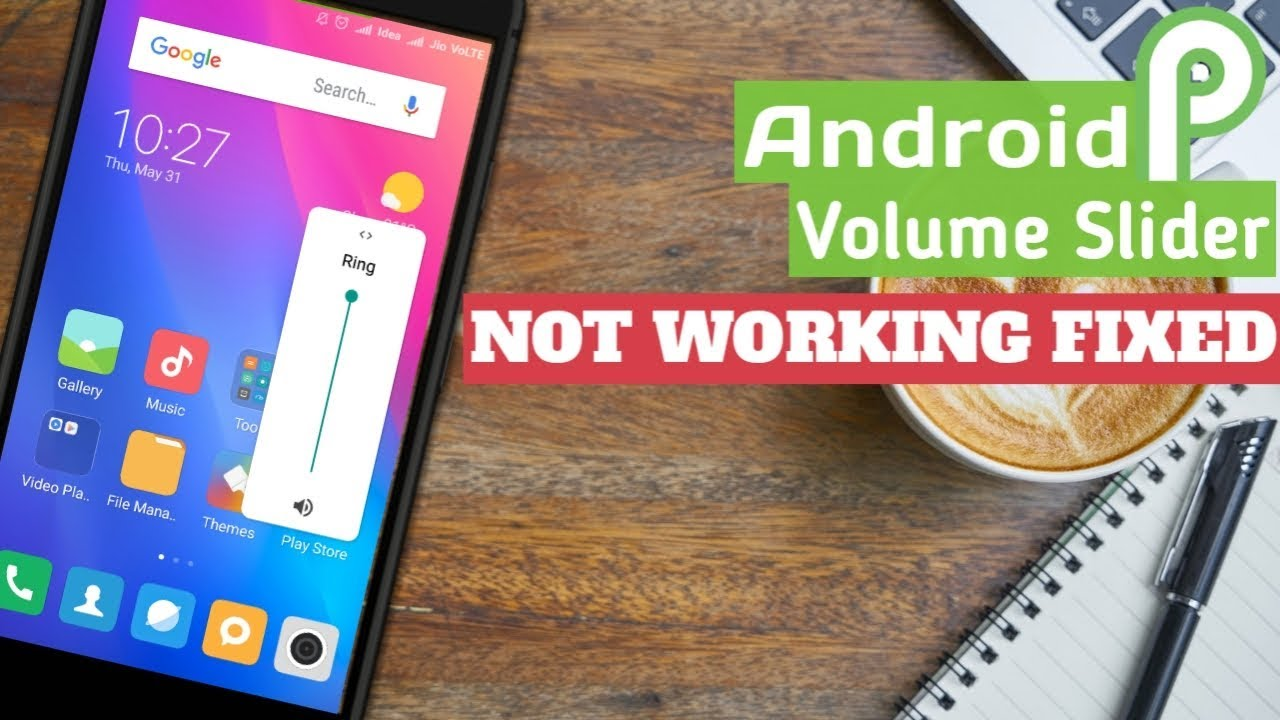 Android P Volume Slider Not Working FIXED !!! [No Root, Any Android or  Phone]