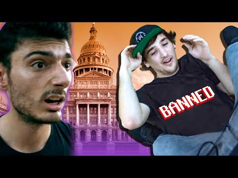 BANNED FROM TEXAS CAPITOL